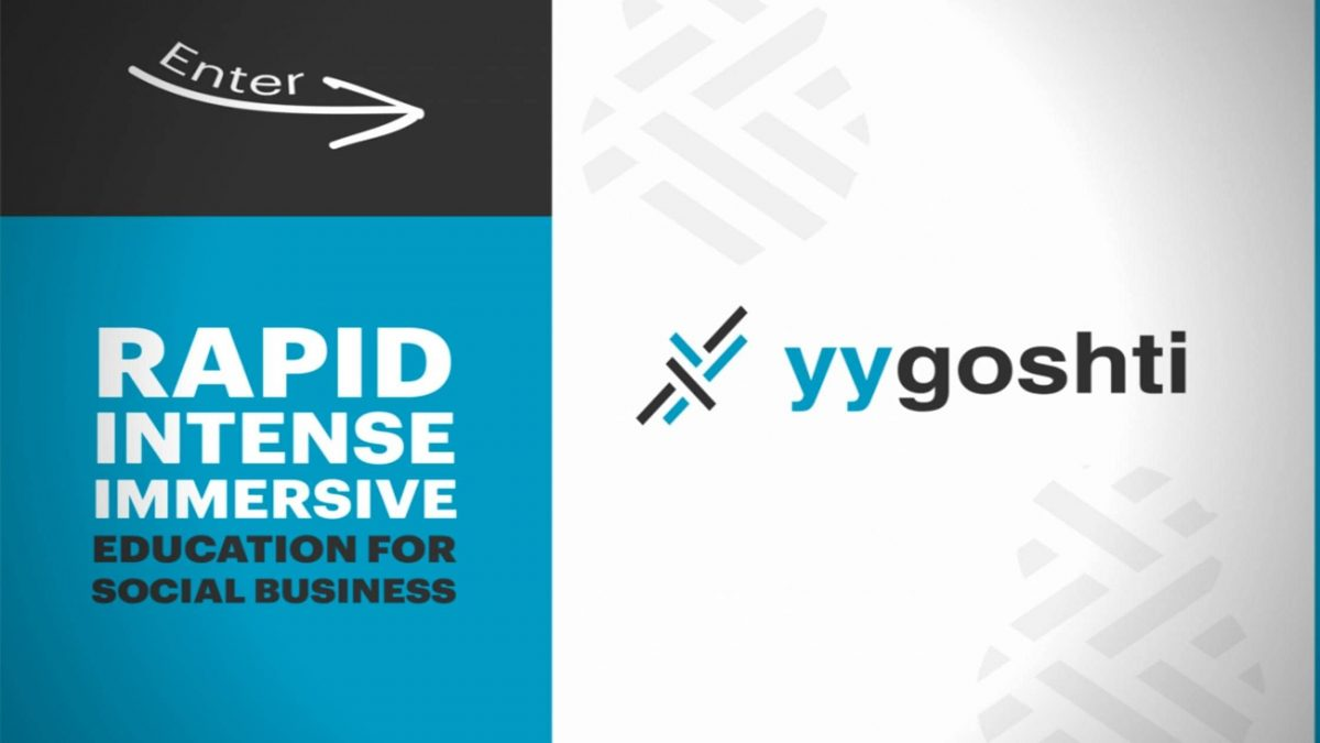 YY Goshti: Rapid and Intensive Education for Social Business